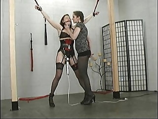 Sindee Jennings and Natali Demore 1 bdsm femdom facesitting
