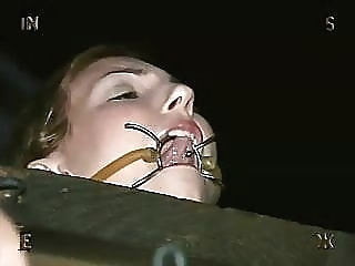 Wenona at the farm bdsm flashing bondage