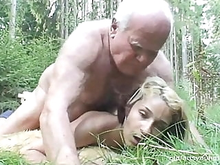 Whore fucked in the woods anal flashing old & young