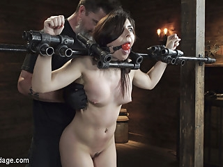 Keira Croft in Keira Croft: Pain Slut Gets Destroyed & Squirts Everywhere - DeviceBondage bdsm brunette fetish