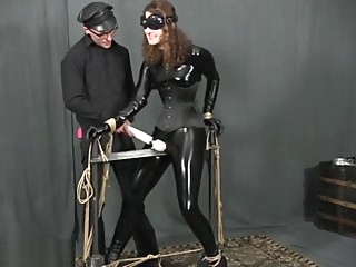 catsuit bondage vibrator bdsm cosplay fetish