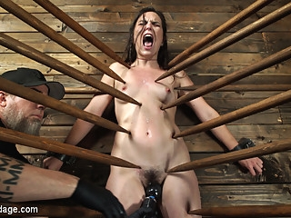 Juliette March in Juliette March: Perfect Pain Slut Pushed to the Extreme - DeviceBondage bdsm brunette fetish