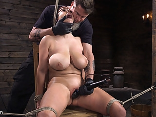 Angela White in Angela White: Complete Submission to The Pope - HogTied bdsm big ass big tits
