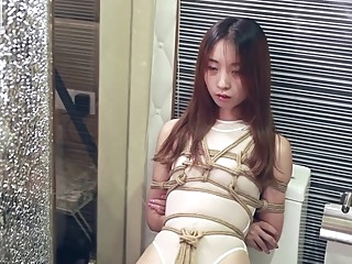 chinese bondage asian bdsm brunette