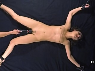 Yuno - Torment In Cross-Tie bdsm brunette fetish