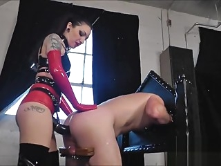 Strapon Bitch 4 anal bdsm fetish