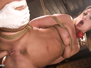 Tommy Pistol & Daisy Stone in Anal Fuck Toy Daisy Stone is Helpless in the Dungeon - BrutalSessions anal bdsm big ass