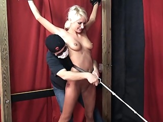 Kelly classic tickle challenge bdsm blonde fetish