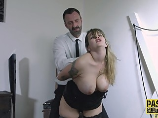 Fingerfucked fetish babe throats bdsm big tits deepthroat