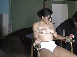 Incredible porn movie Hogtied , take a look bdsm brunette fetish