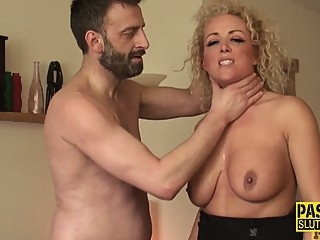 Milf dominated for throating and fucking bdsm deepthroat fetish