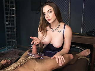 Chanel Preston in Not Allowed to Feel - KinkVR bdsm femdom fetish