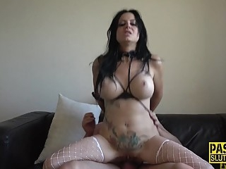 Tied up and anally banged submissive anal bdsm deepthroat