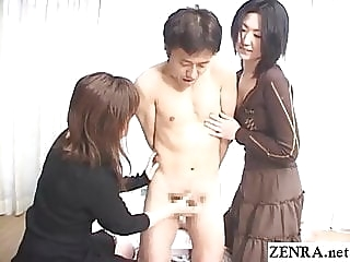 CFNM from Japan standing handjob hell Subtitles asian handjob japanese