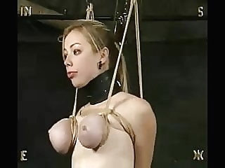 Seven on the treadmill bdsm bisexual bondage