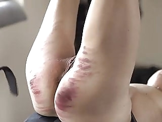 Fit milf whipped right on her cunt bdsm milf small tits