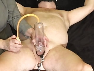 FLR Mistress Humiliates Her Femdom Slave With Pump and Ruin sex toy handjob bdsm